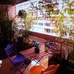 Une terrasse exotique et dépaysante