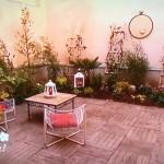 aménager un patio extérieur ombragé