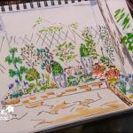 comment aménager un jardin d'ombre avec des fleurs