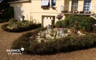 aménagement entrée jardin